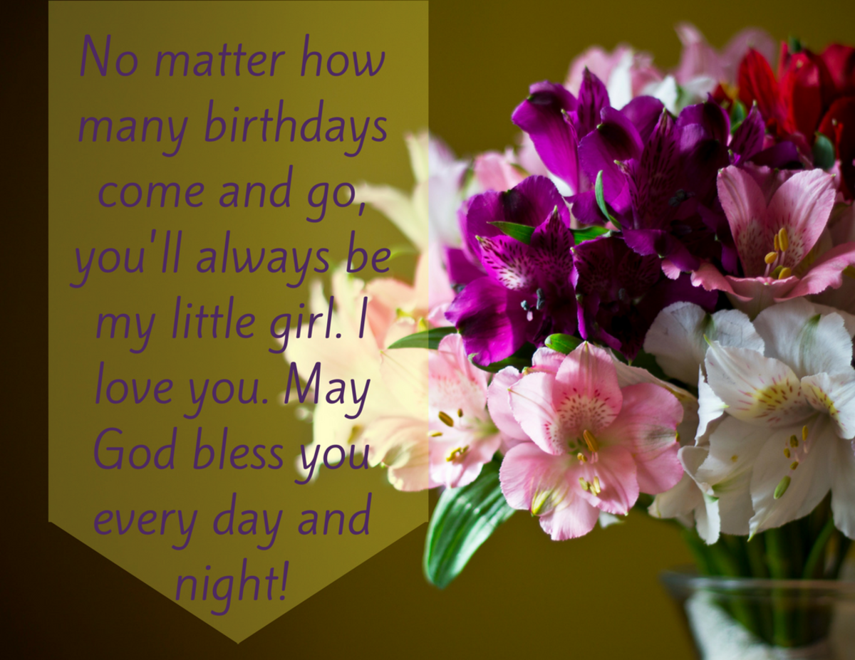 Happy Birthday Quotes Young Lady ~ Birthday wishes texts and quotes for a daughter from mom holidappy