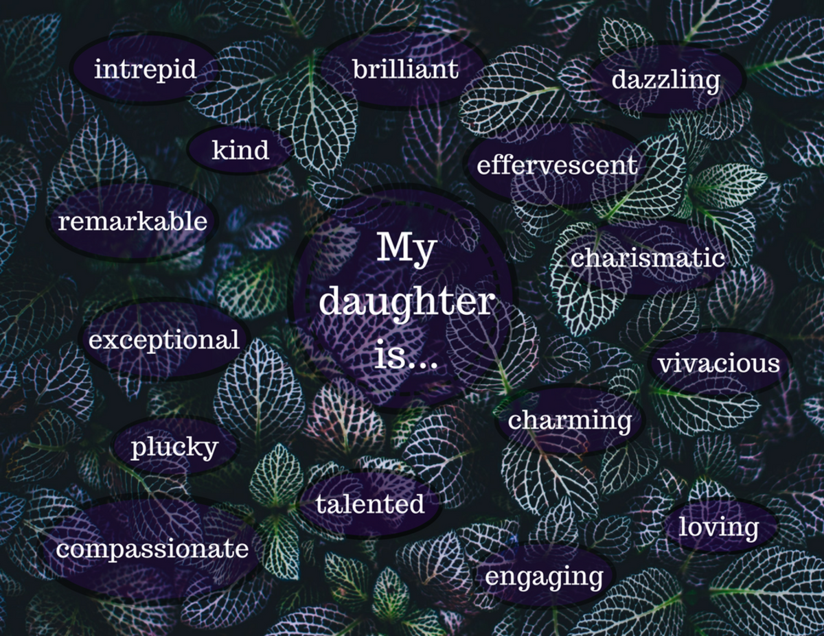 Adjectives to describe your daughter.