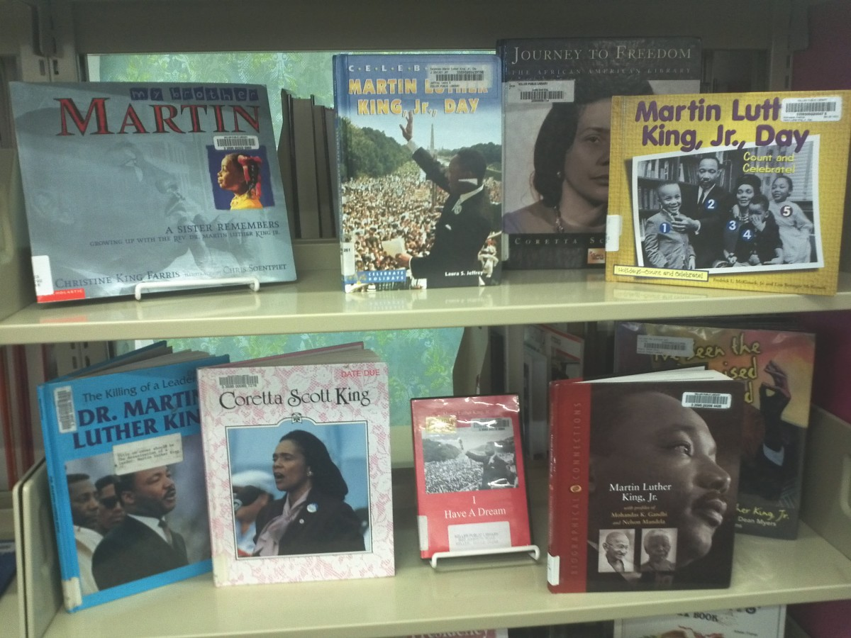 There are lots of great books about Martin Luther King at your local library.