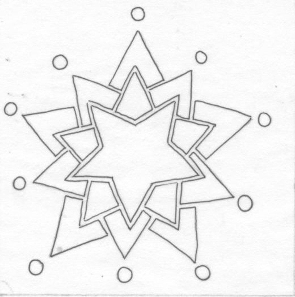Drawing for the Star