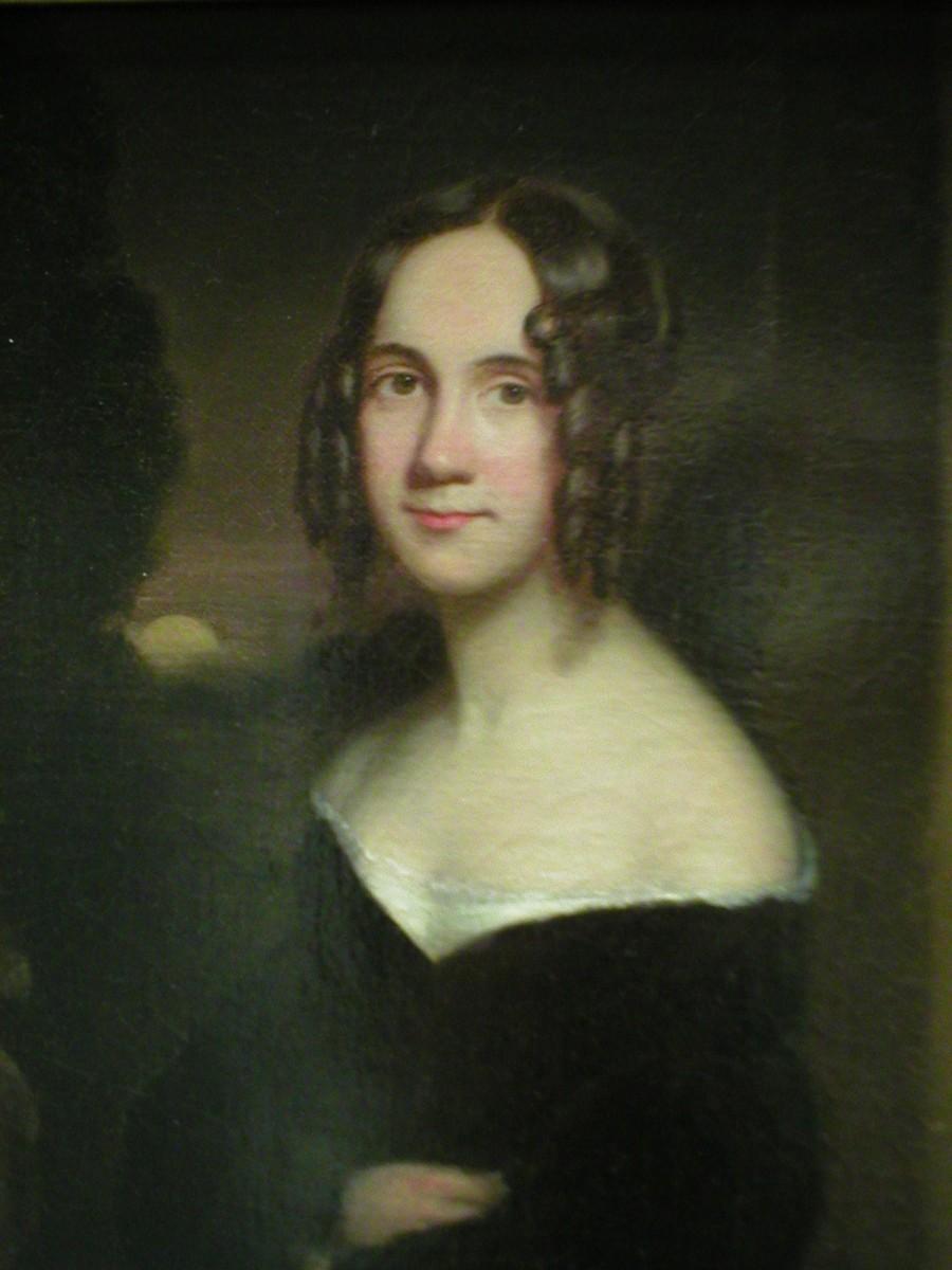 A young Sarah Josepha Hale (1788-1879)