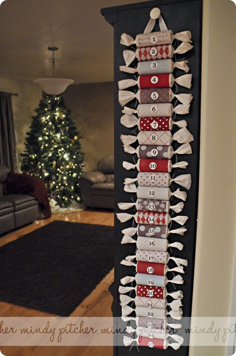 Cracker Style Advent Calendar DIY