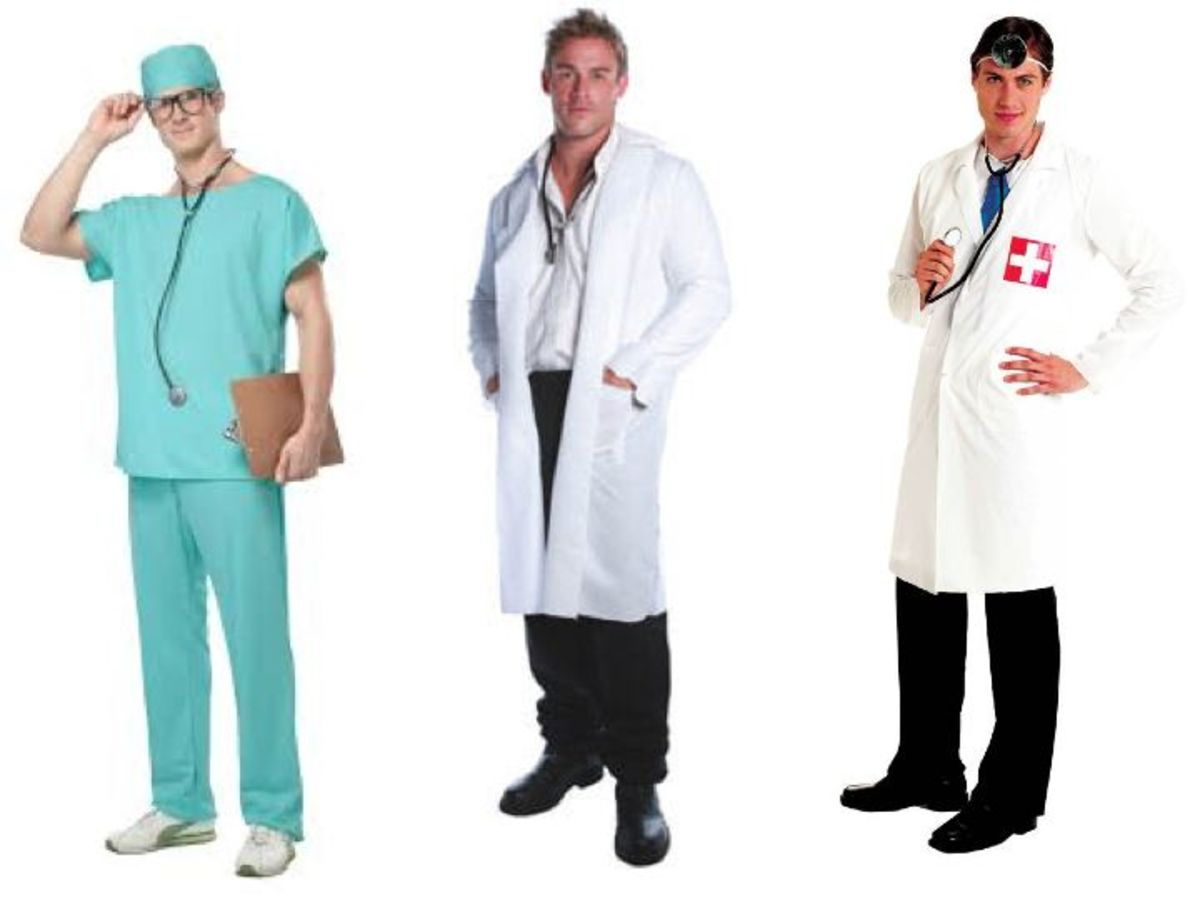 Male doctor costumes