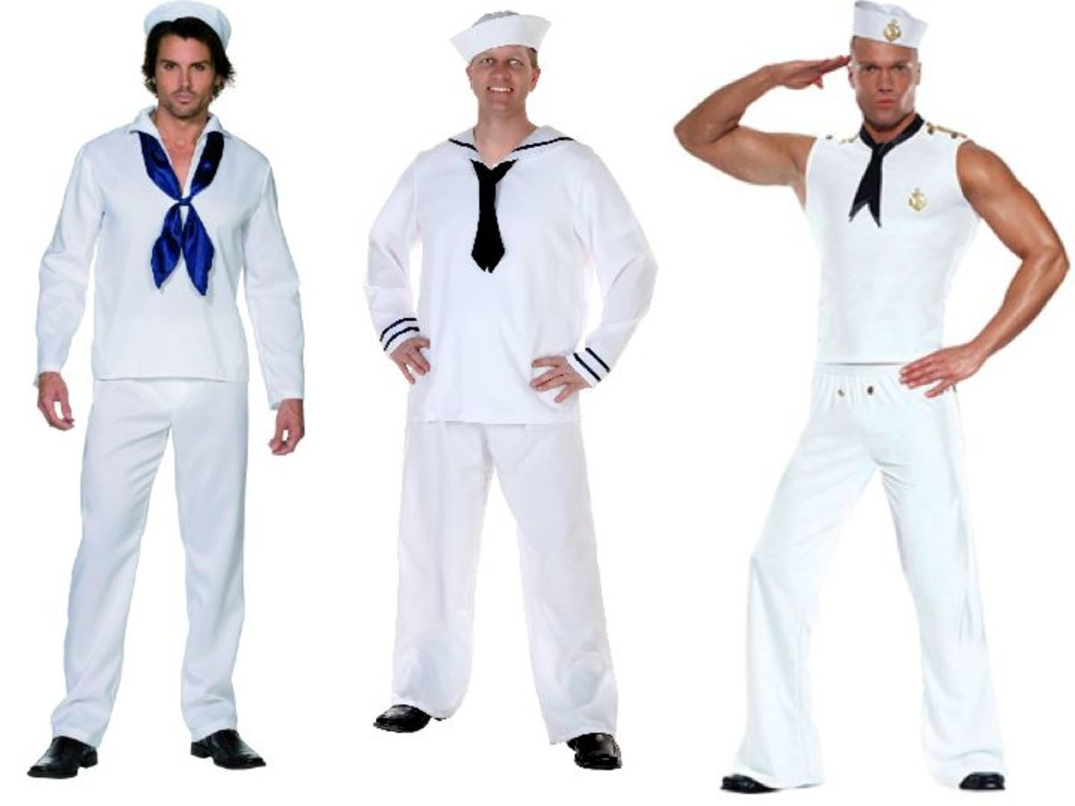 Male sailor costumes