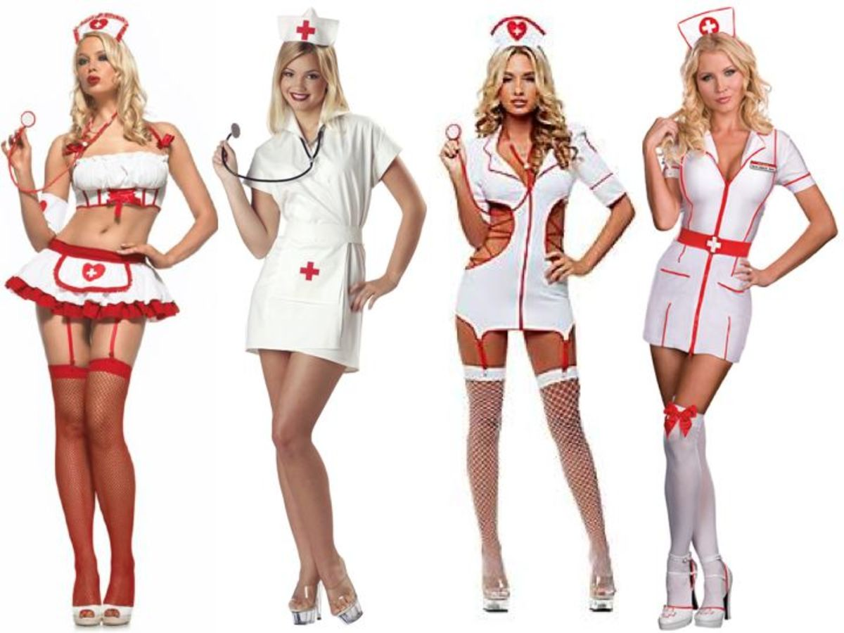 Women Nurse Halloween Costumes
