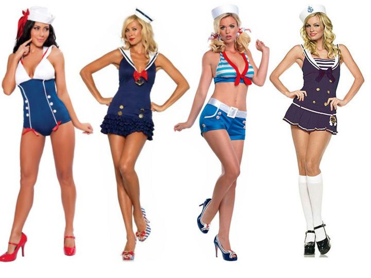 Female sailor costumes