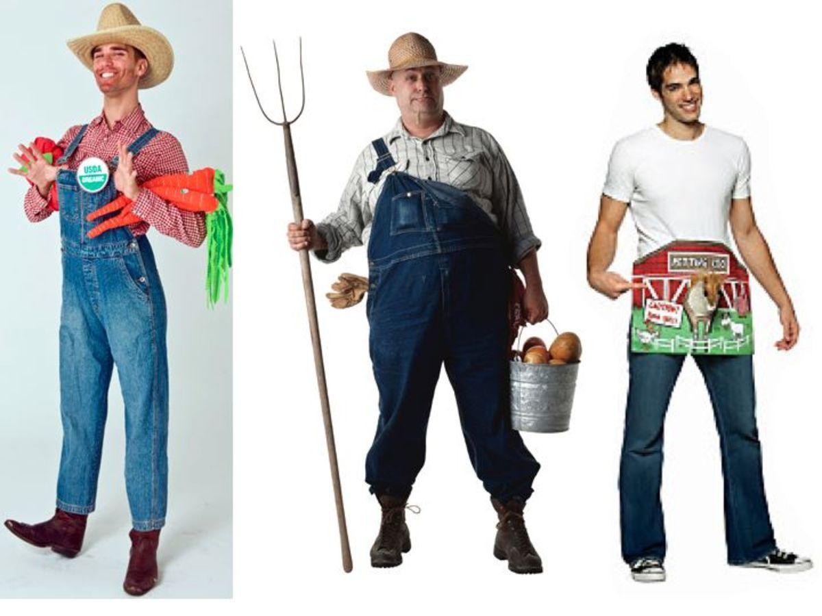 Male farmer costumes
