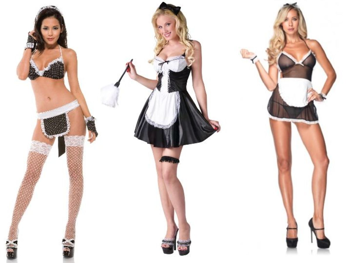 Women Maid Halloween Costumes