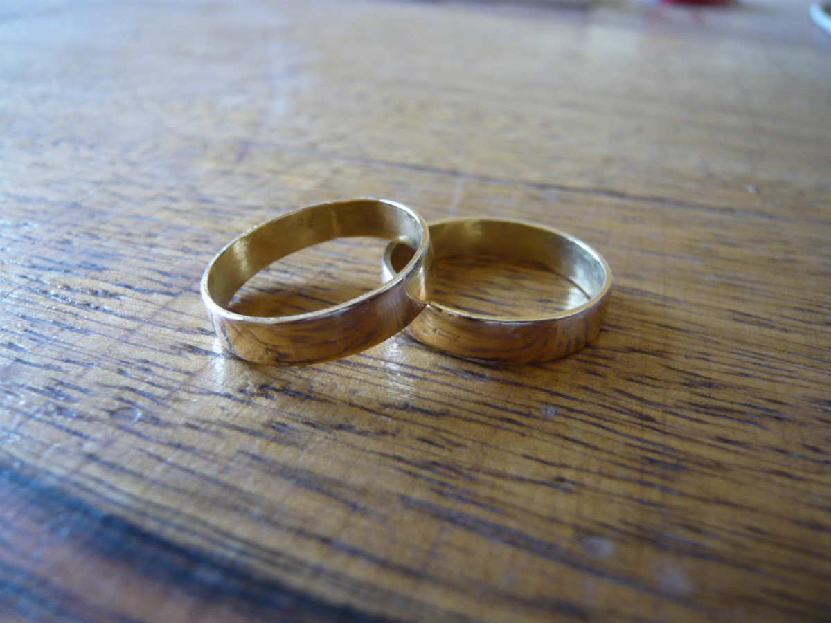 A couple of golden rings