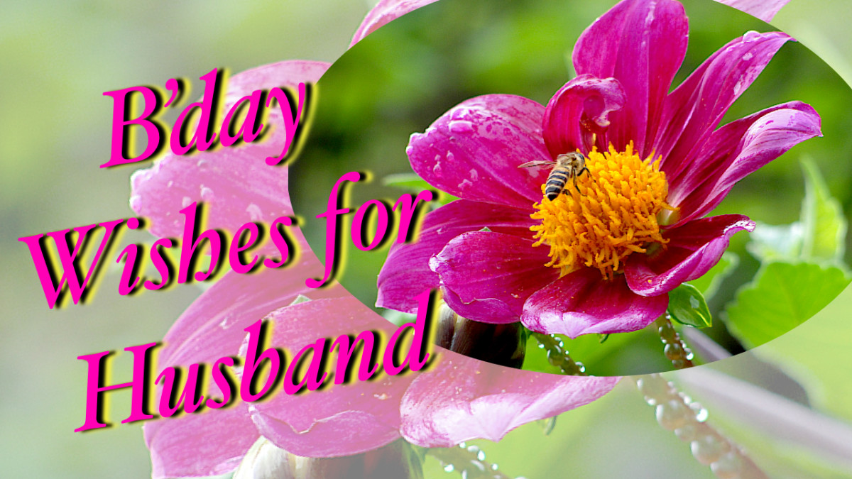 Print out a colorful card for your hubby!