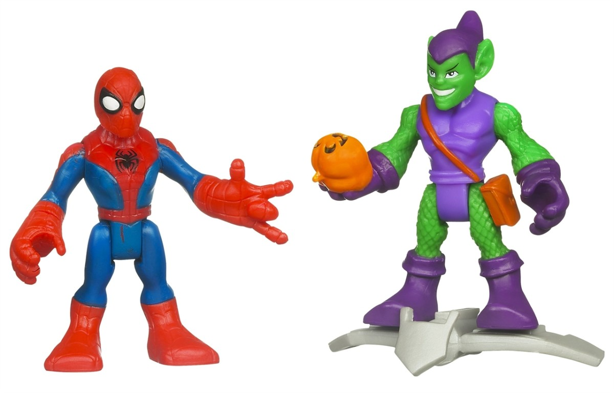 Playskool Heroes: Spiderman and The Green Goblin