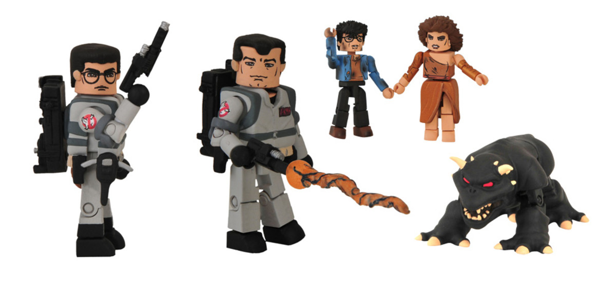 I love these Ghostbusters Minimates