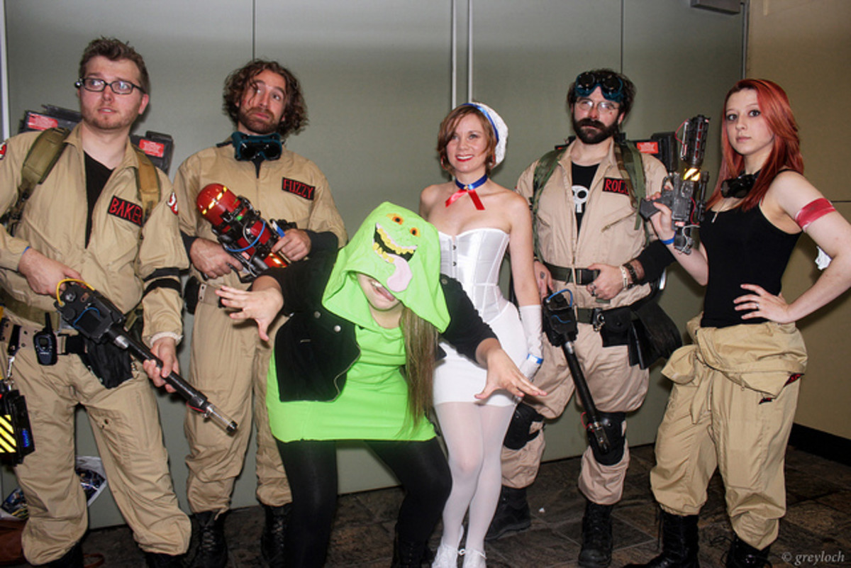 ghostbusters group costume idea