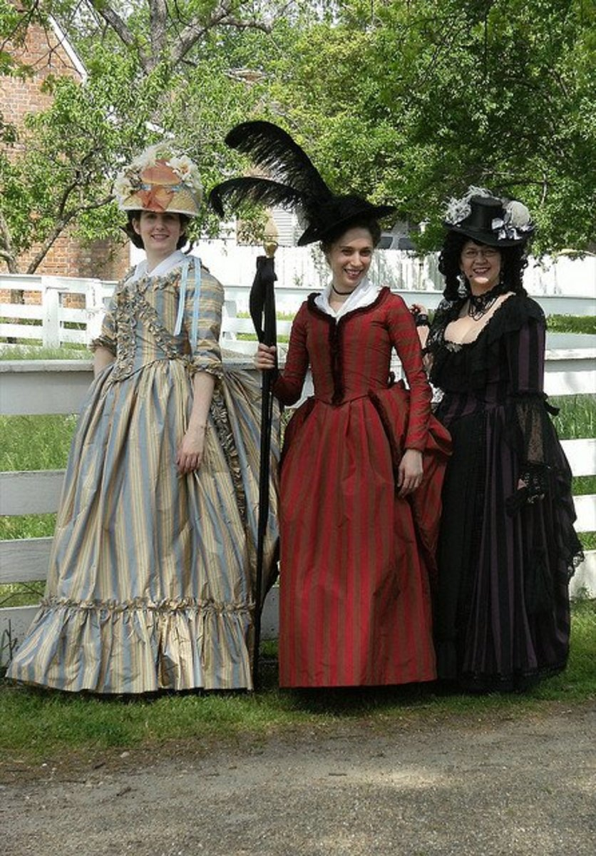 Historical costumes are great for groups of 3 or more