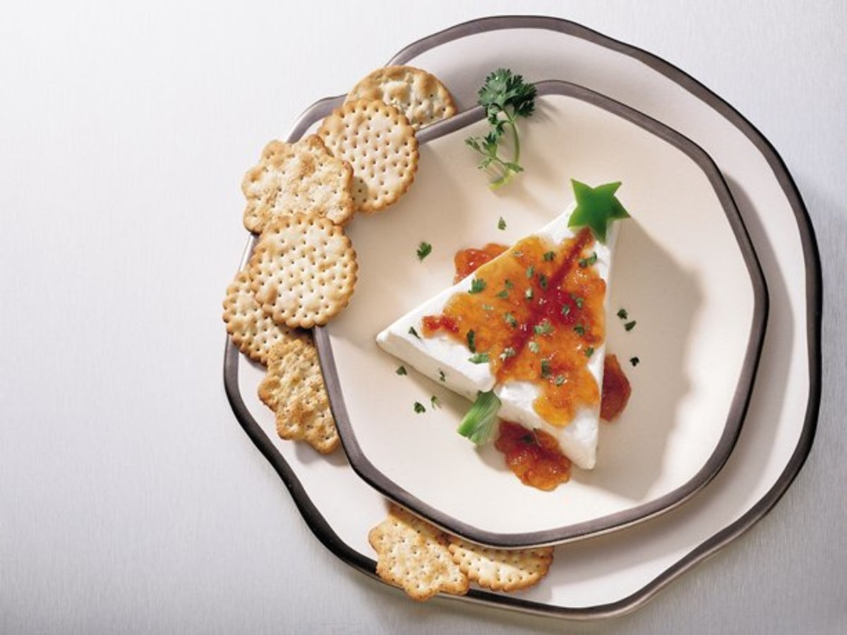 If you have some cream cheese and pepper jelly, you are just minutes away from a spectacular Christmas appetizer.
