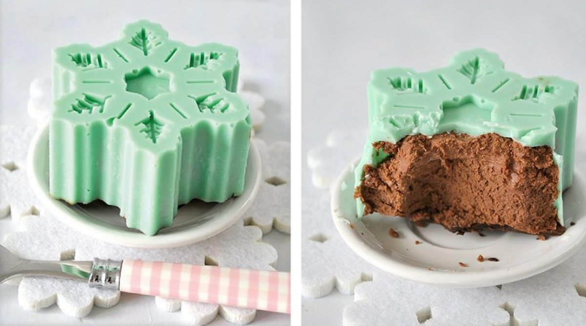 Christmas treats almost too perfect to eat.