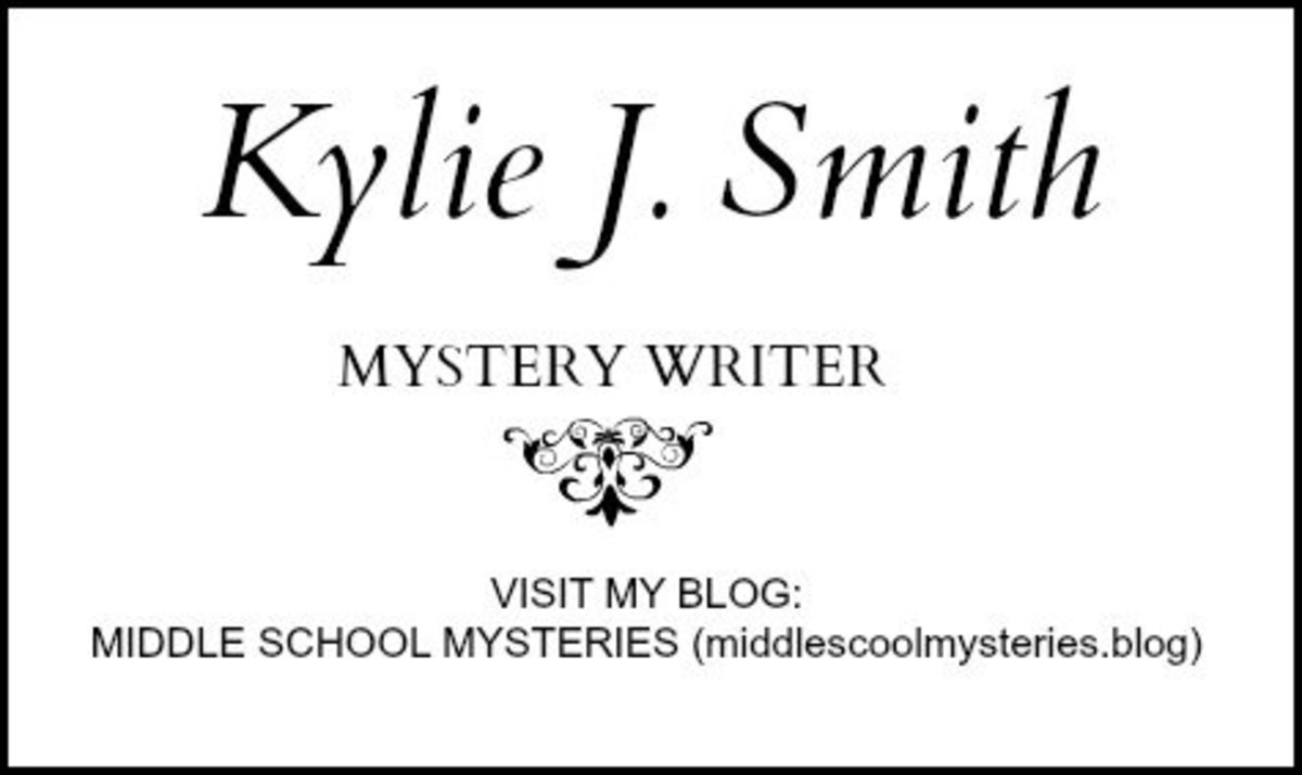 Gift Ideas for Aspiring Young Writers—personalized business cards.