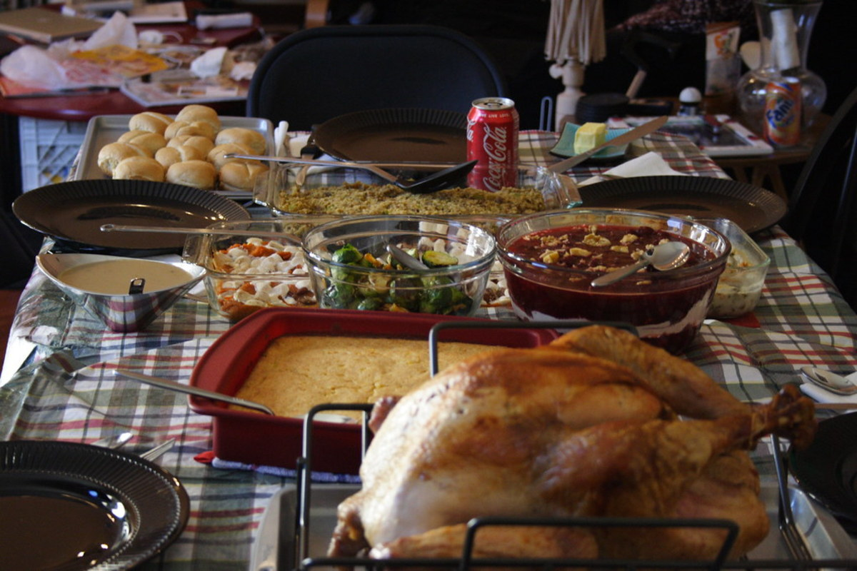 While Thanksgiving dinners have certainly grown more diverse over the years, some of the staples—like turkey, cranberries, and pumpkin—have been part of the feast since the beginning.