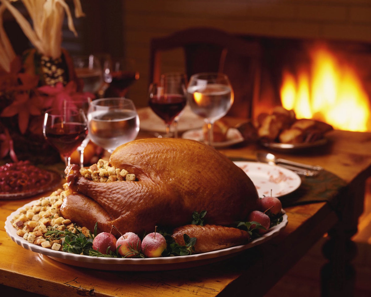 Americans consume over 280 million turkeys every Thanksgiving.