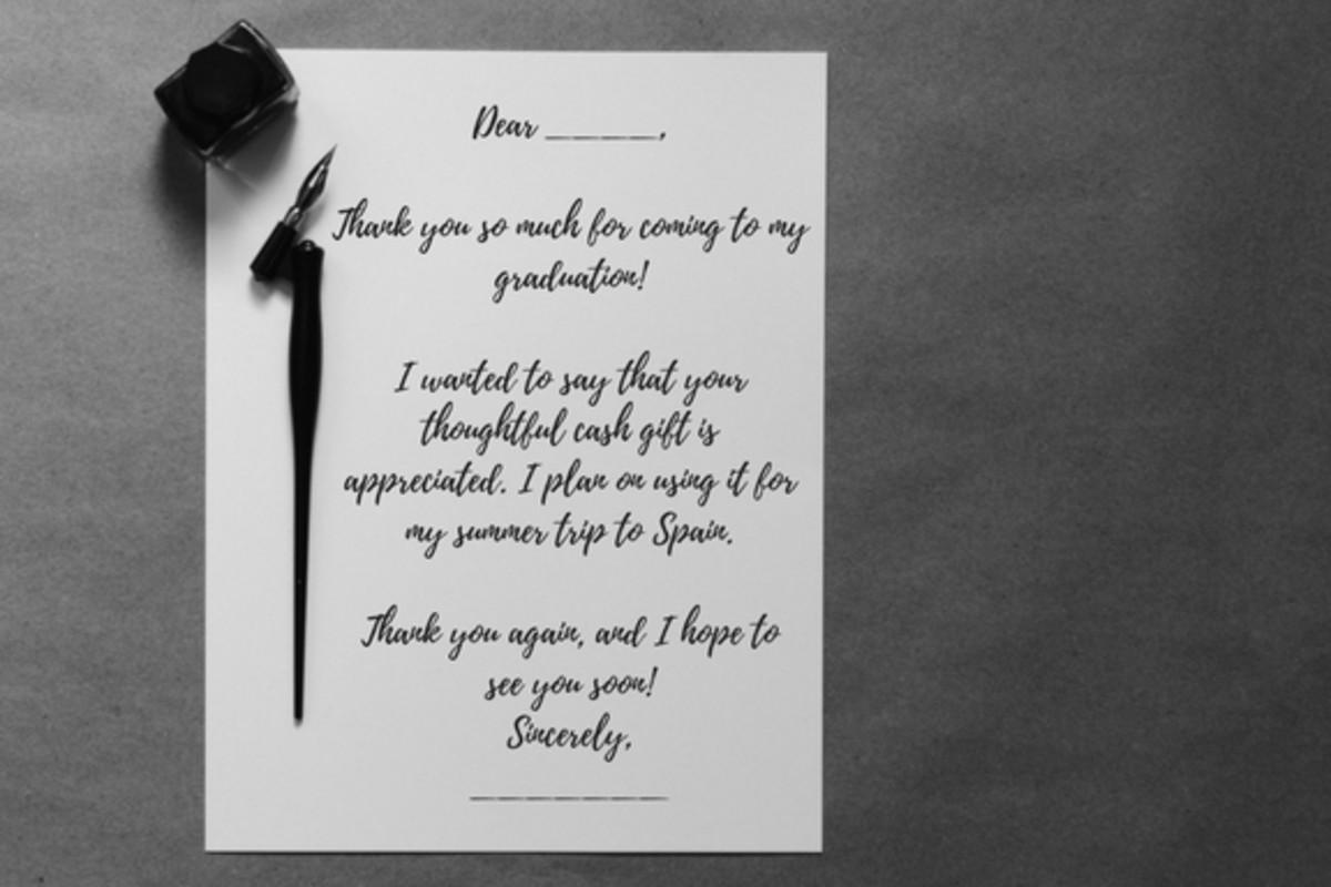 20 great messages to write in a thank you note - Graduation Thank You Cards