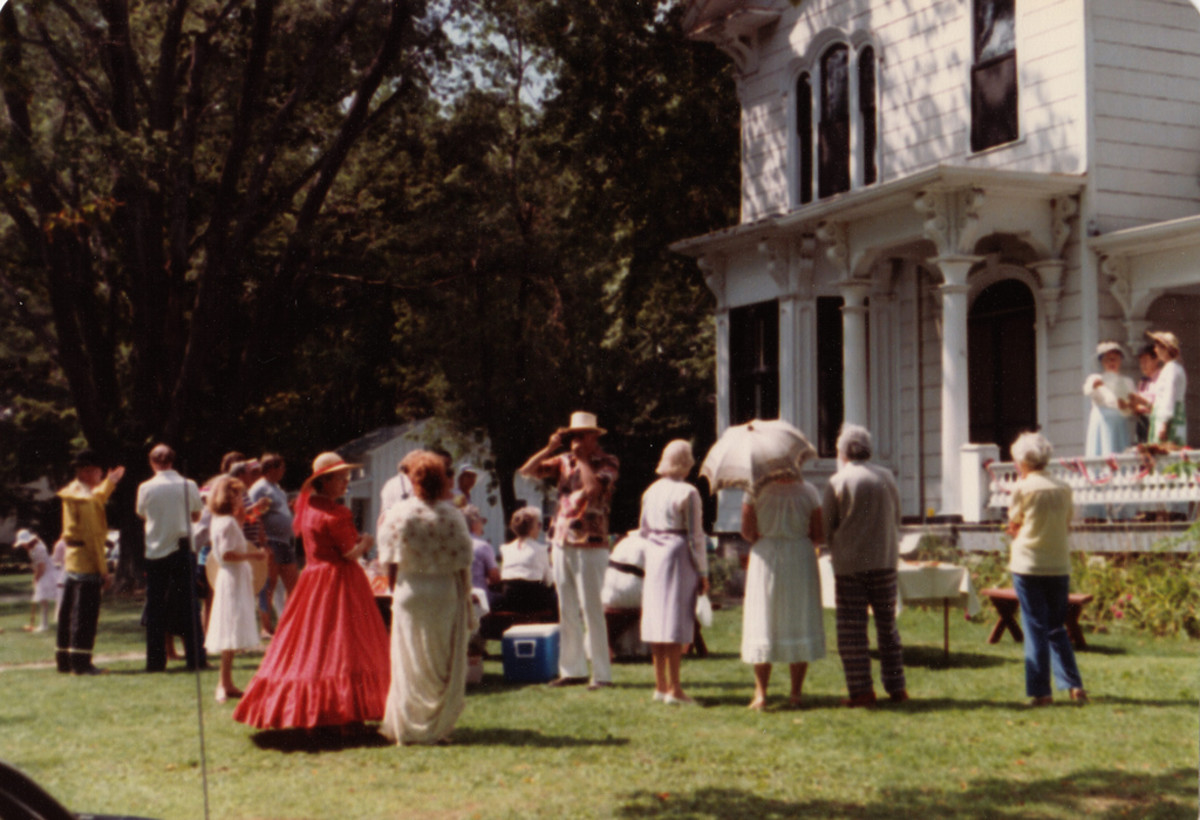 A Victorian Lawn Party might look something like this...