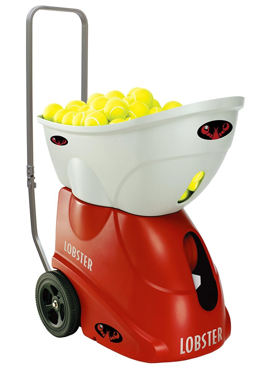 The Lobster Sports Elite 2 Portable Tennis Ball Machine. Not the cheapest gift, I'll admit but pretty darn cool, in my experience.