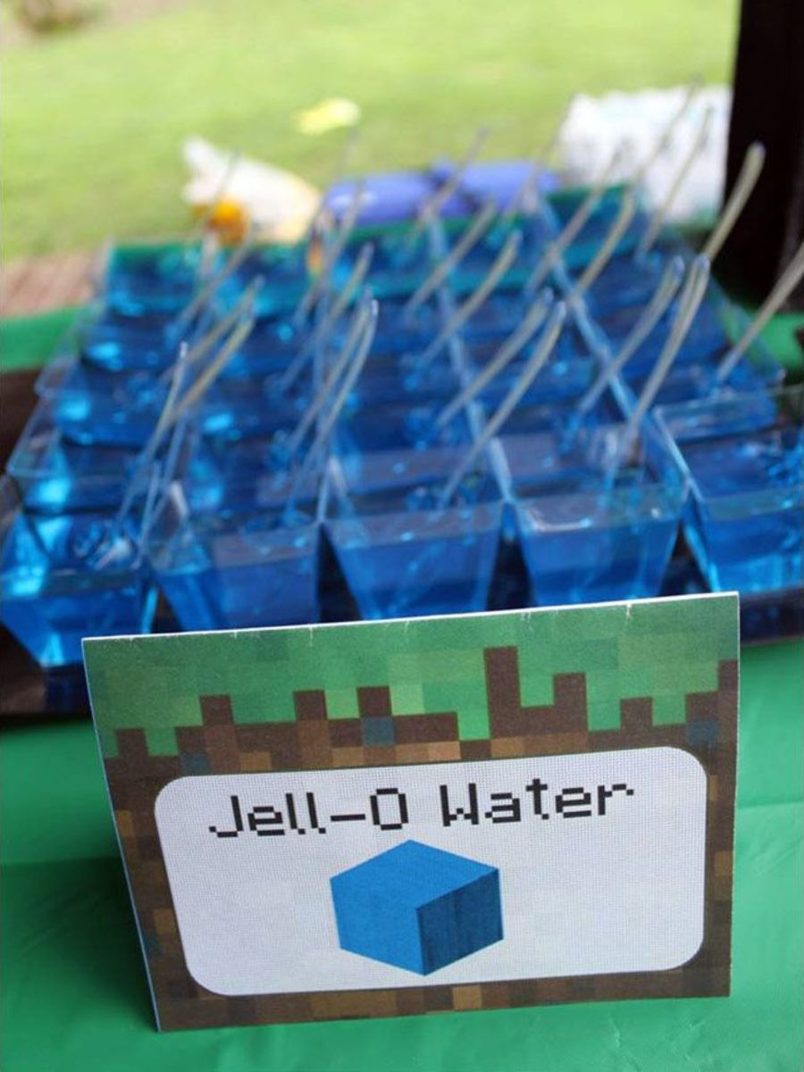 Jell-o water