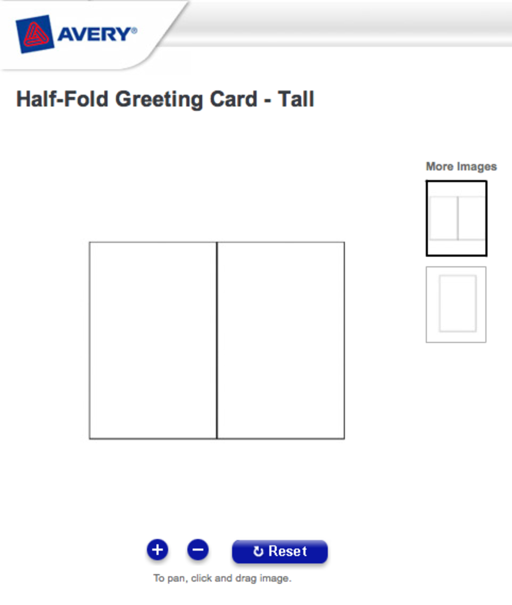 Free Greeting Card Template for Word