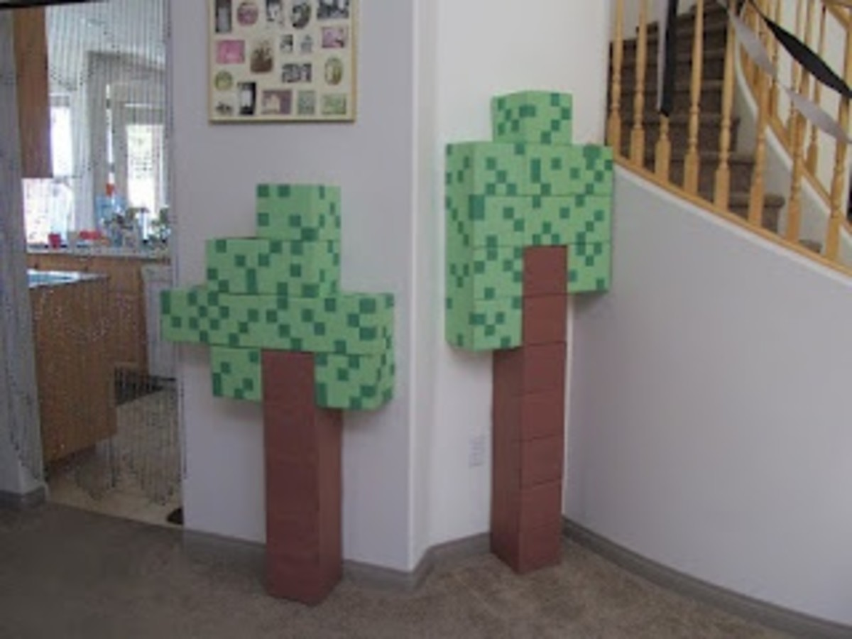what is minecraft food and drink ideas table decoration deas