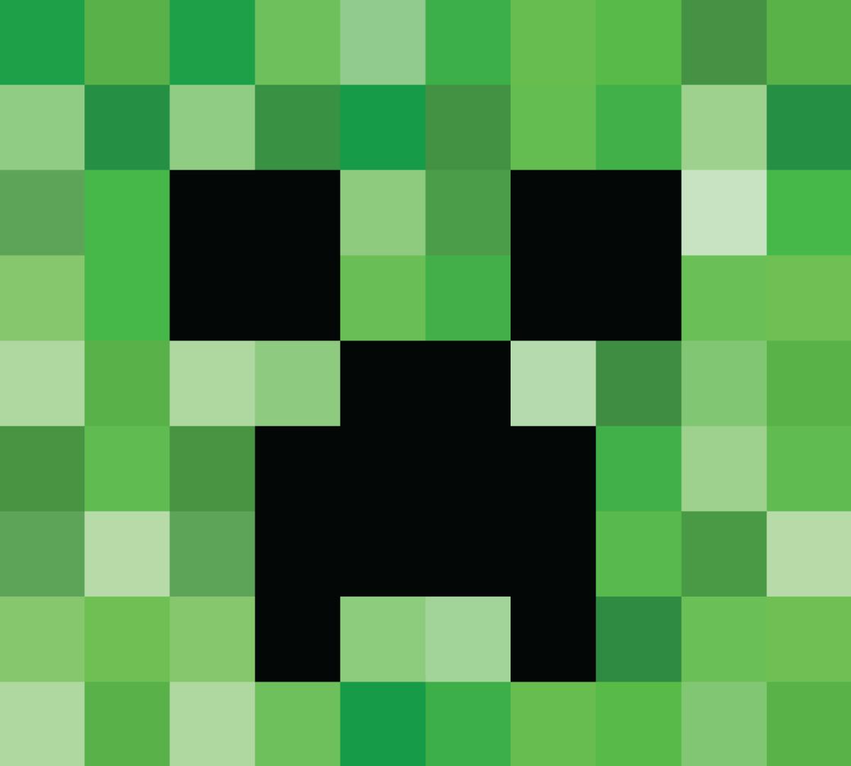 Free Minecraft Creeper Face Image
