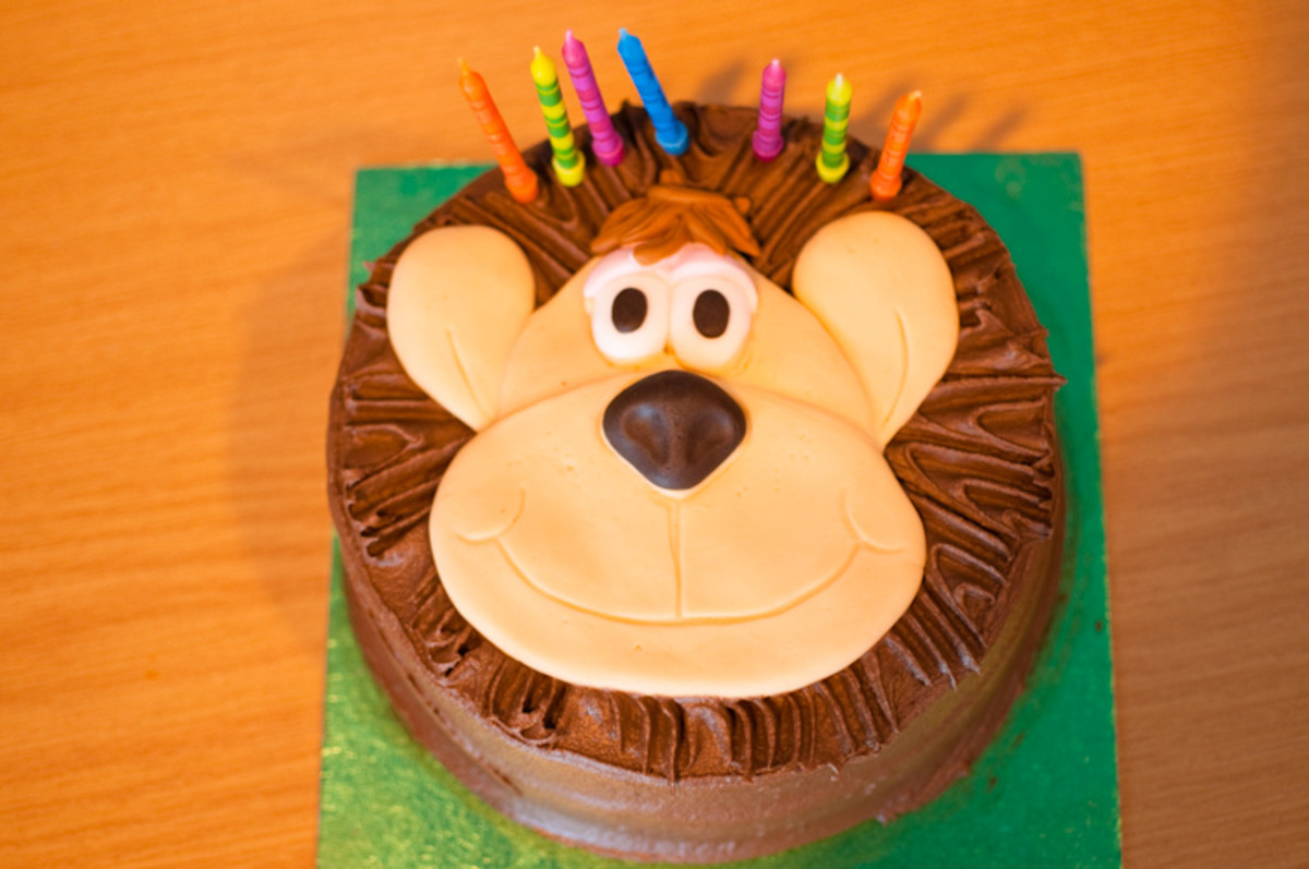 Funny birthday cake picture