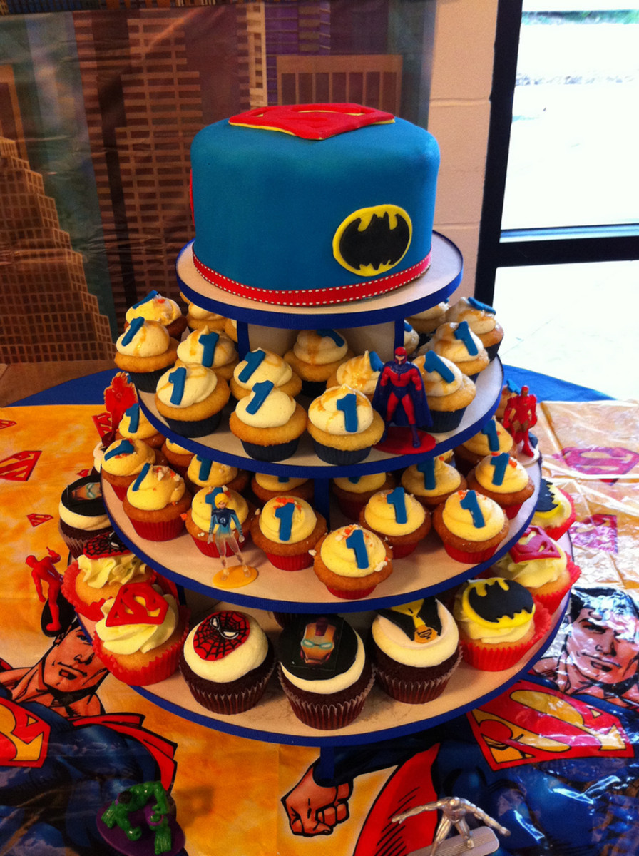 superhero birthday cakes for kids