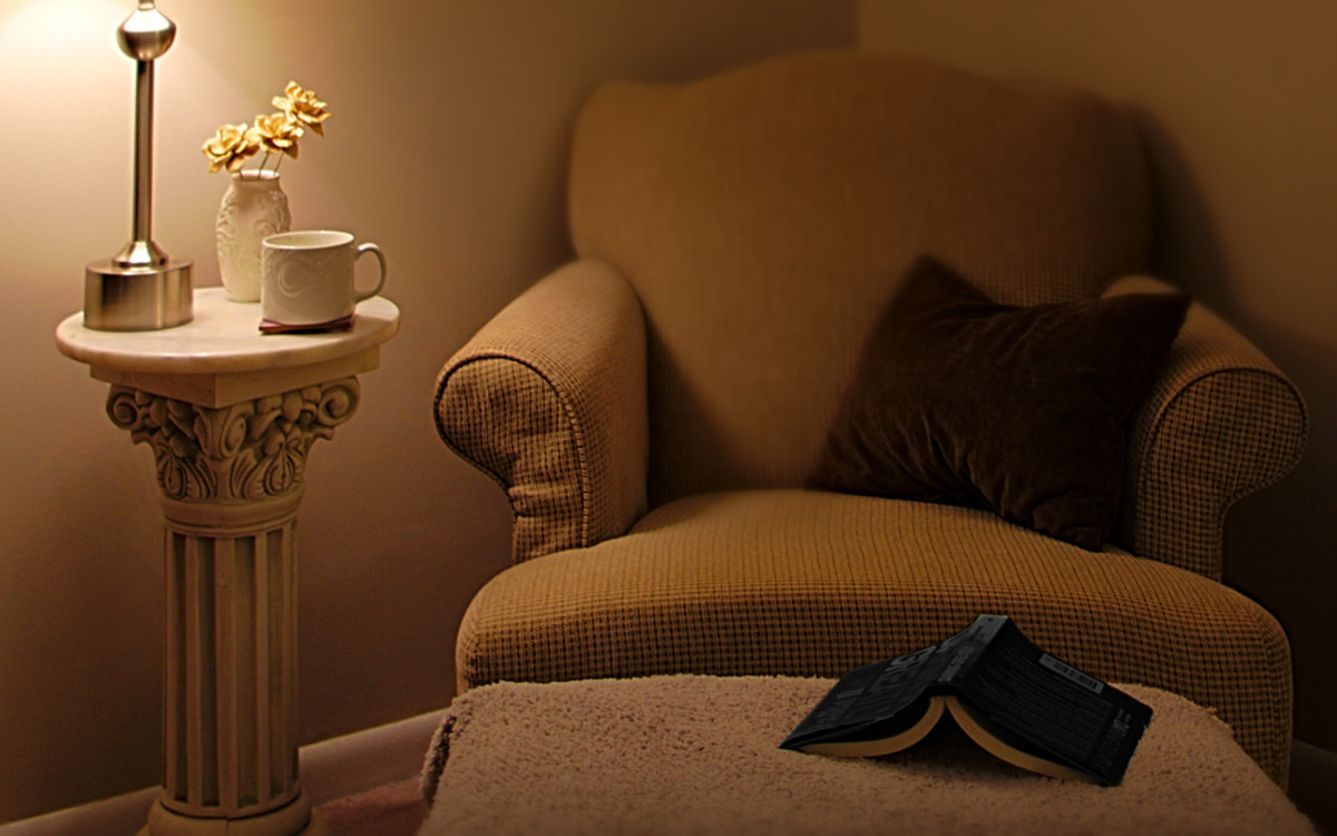 Find a cozy corner and settle in with a good book.