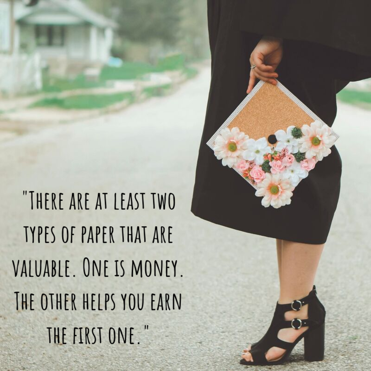 Whether your card is humorous or sincere, make sure to congratulate the graduate in your life on all their hard work.