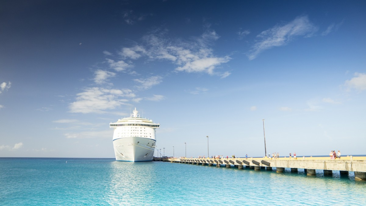 Imagine visiting 40 ports of call on an around the world cruise! That would be the trip of a lifetime for your wife!