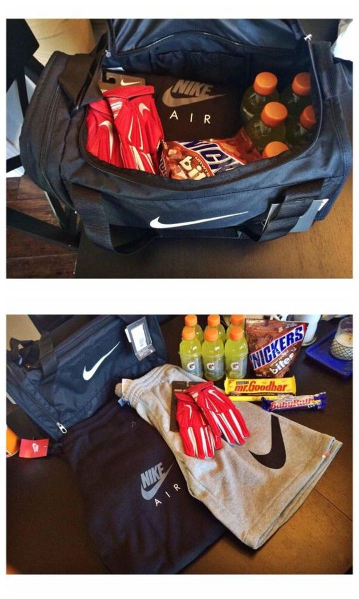 Bag Full Of Treats Easy Diy Anniversary Gift Ideas For Him