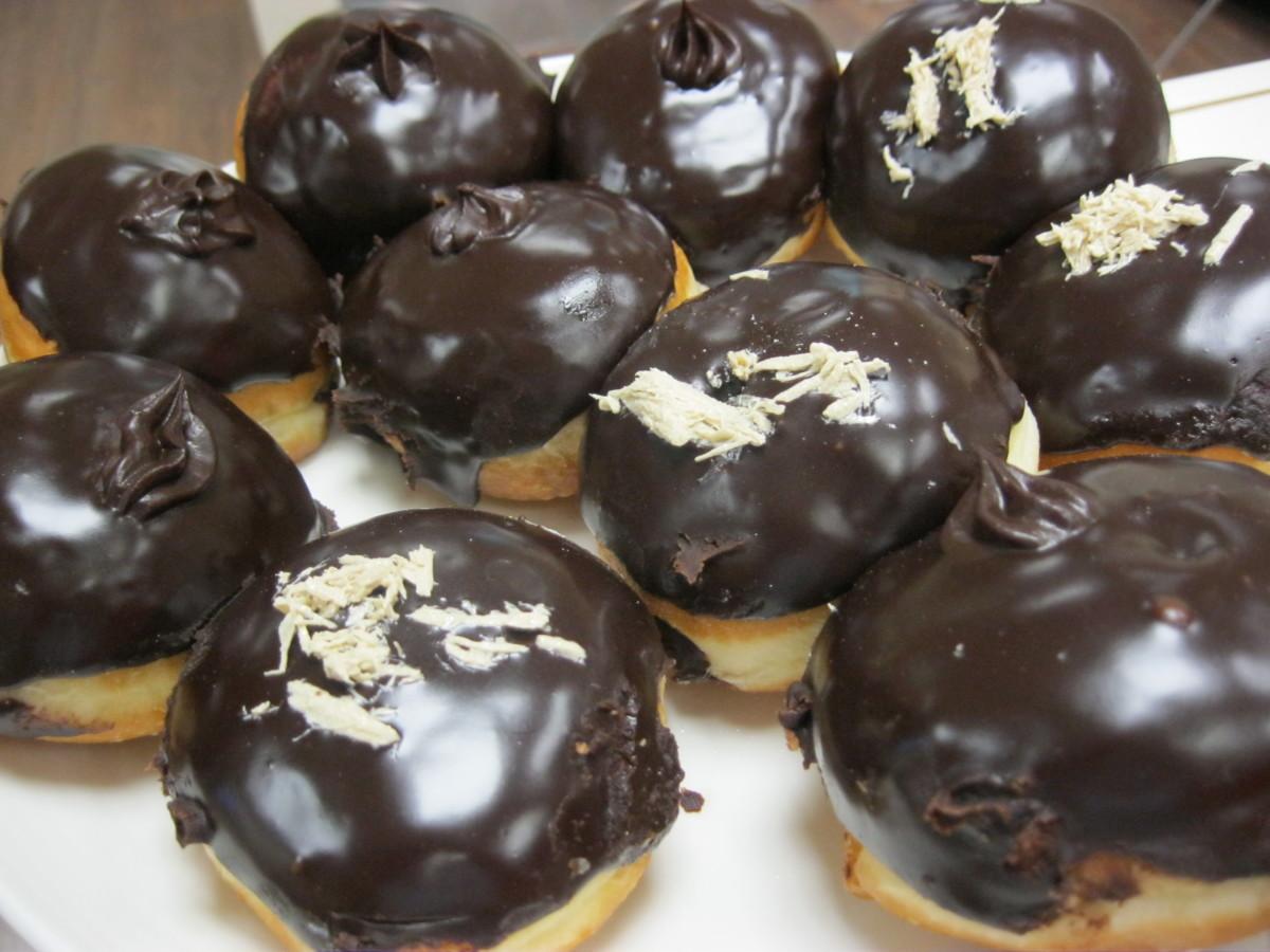 Chocolate Sufganiyot