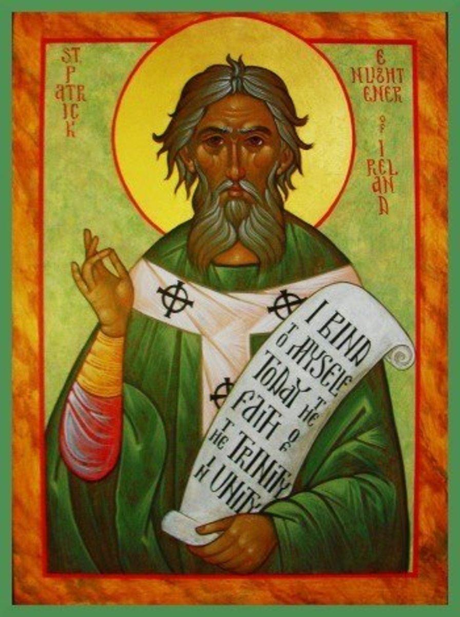 Saint Patrick Used the Shamrock to Teach of the Holy Trinity