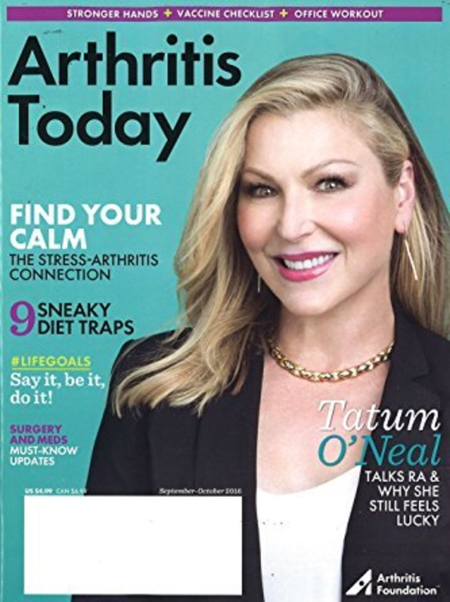 """Arthritis Today"" is a useful magazine for those with arthritis."
