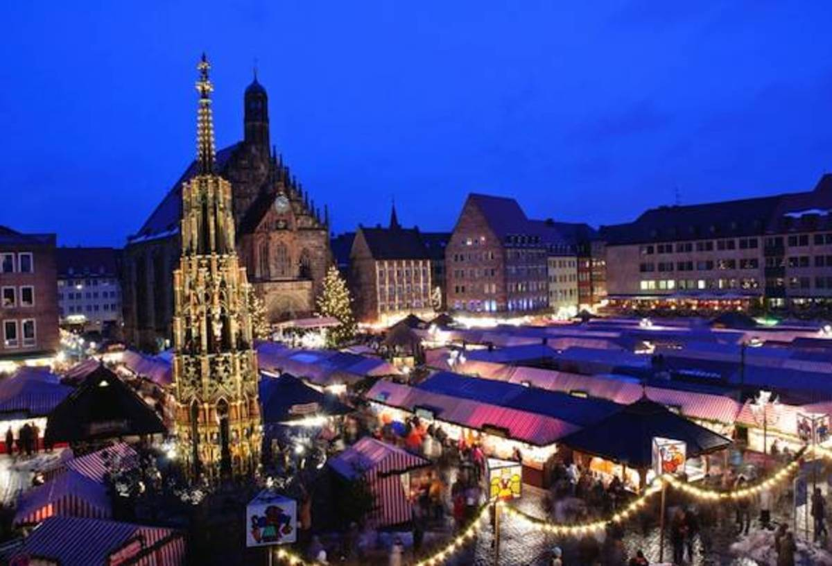 European countries look stunning on Christmas!