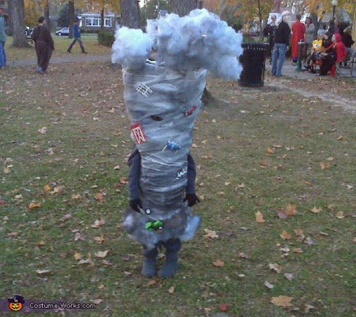 Homemade Tornado Costume