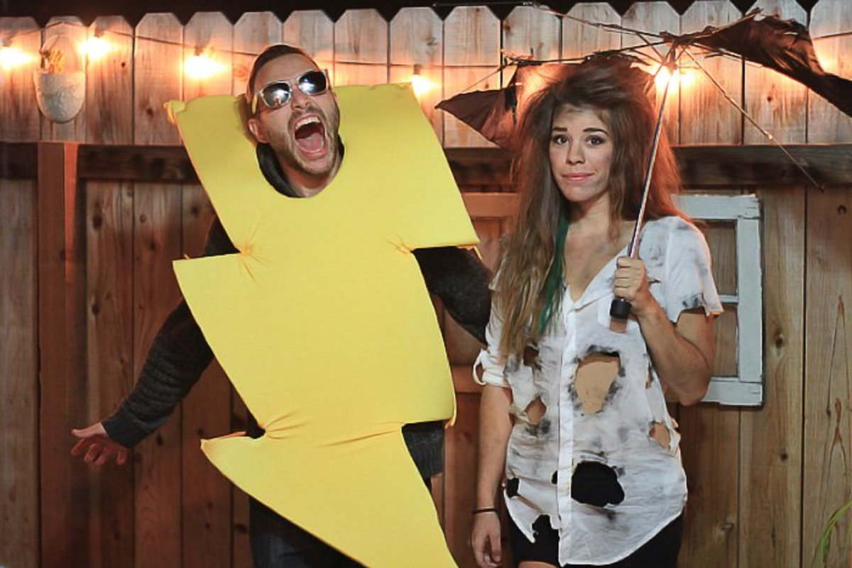 A Lightning Inspired Costume You Can Make At Home