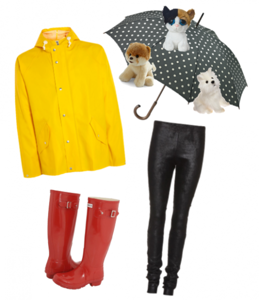Another rain costume you can make yourself.