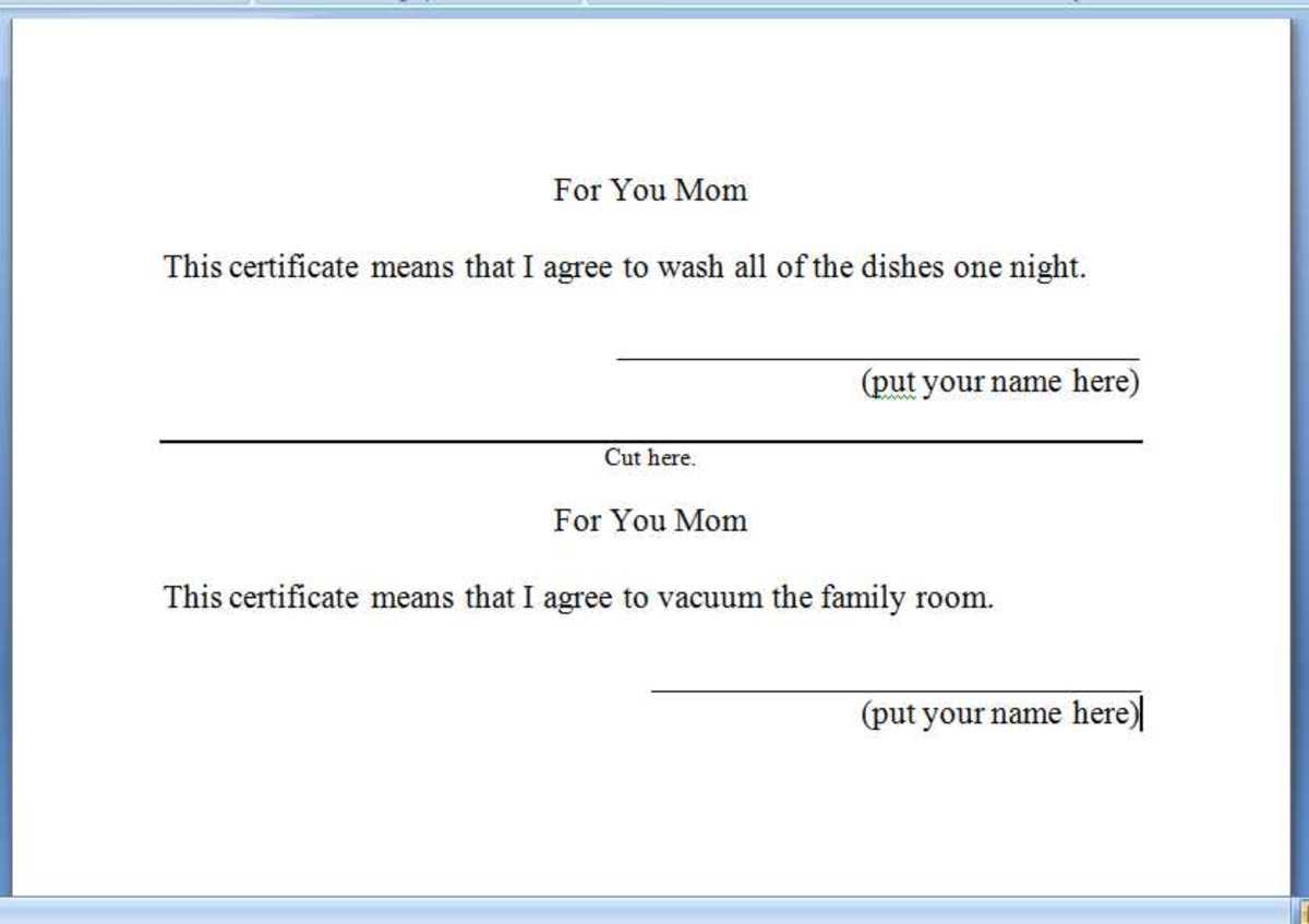#7 Certificates