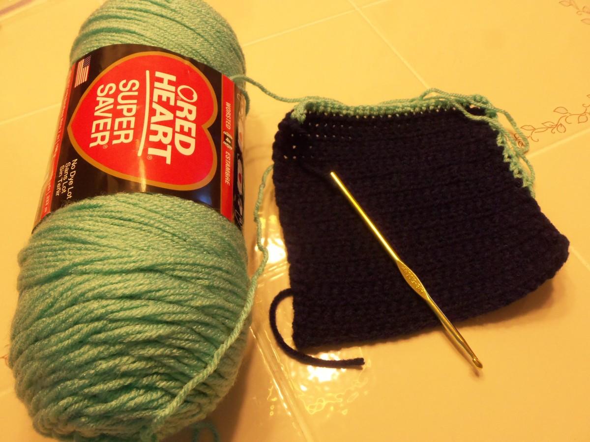 16. Crochet a potholder