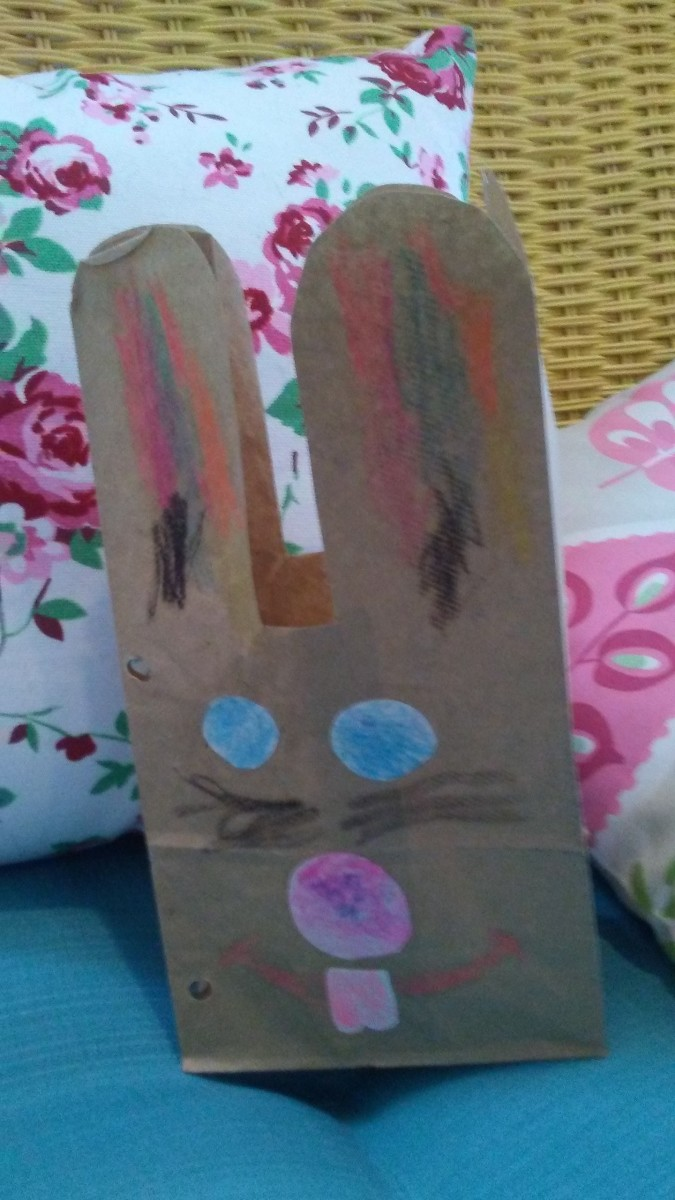 Making Bunny Bags is fun, easy, and inexpensive.