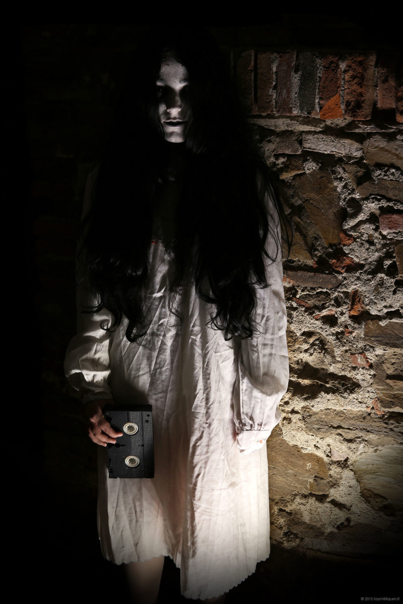 The Girl from The Ring Halloween Costume