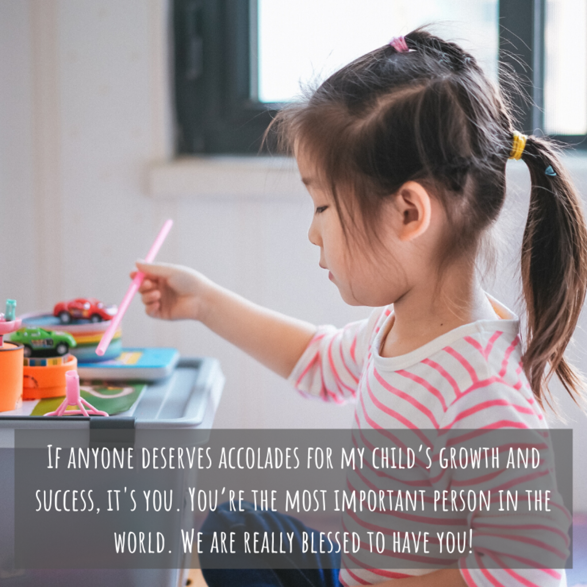Those who educate young children are doing some of the most important work there is. Let them know how important they are!