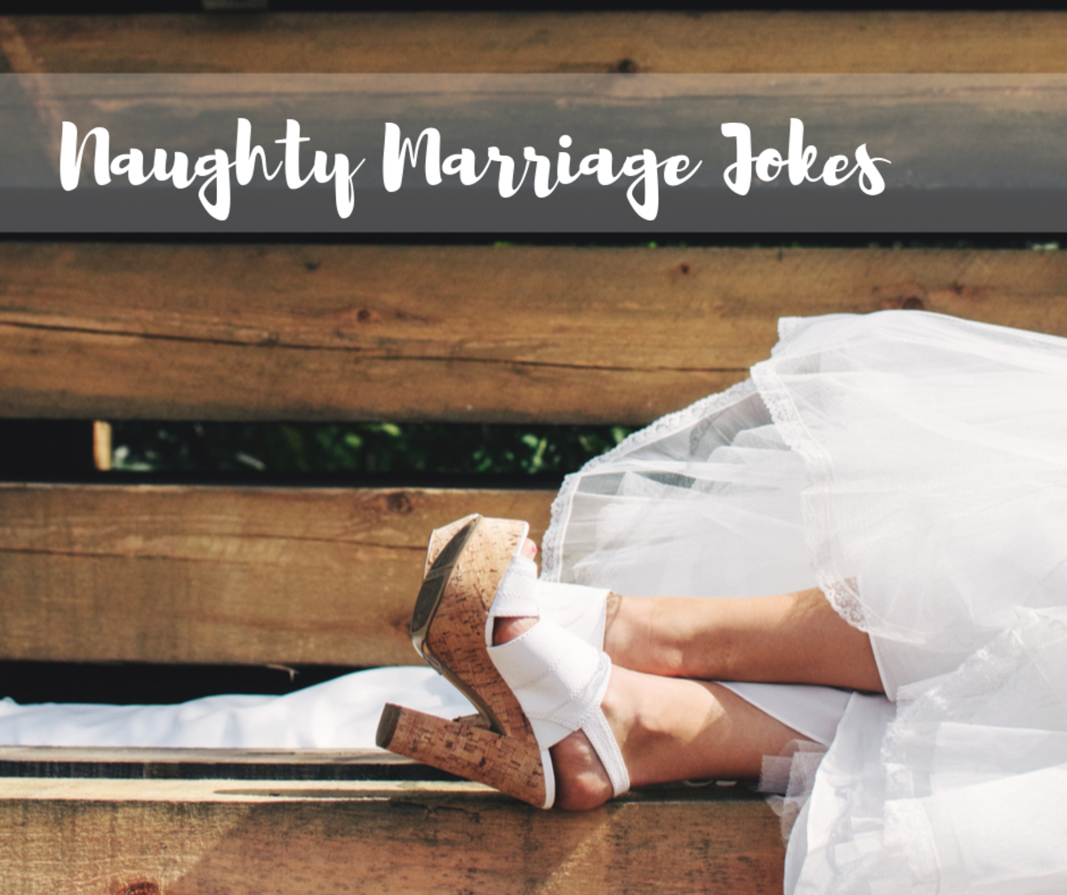 Less than clean jokes for your bridal party card can make for a good laugh.