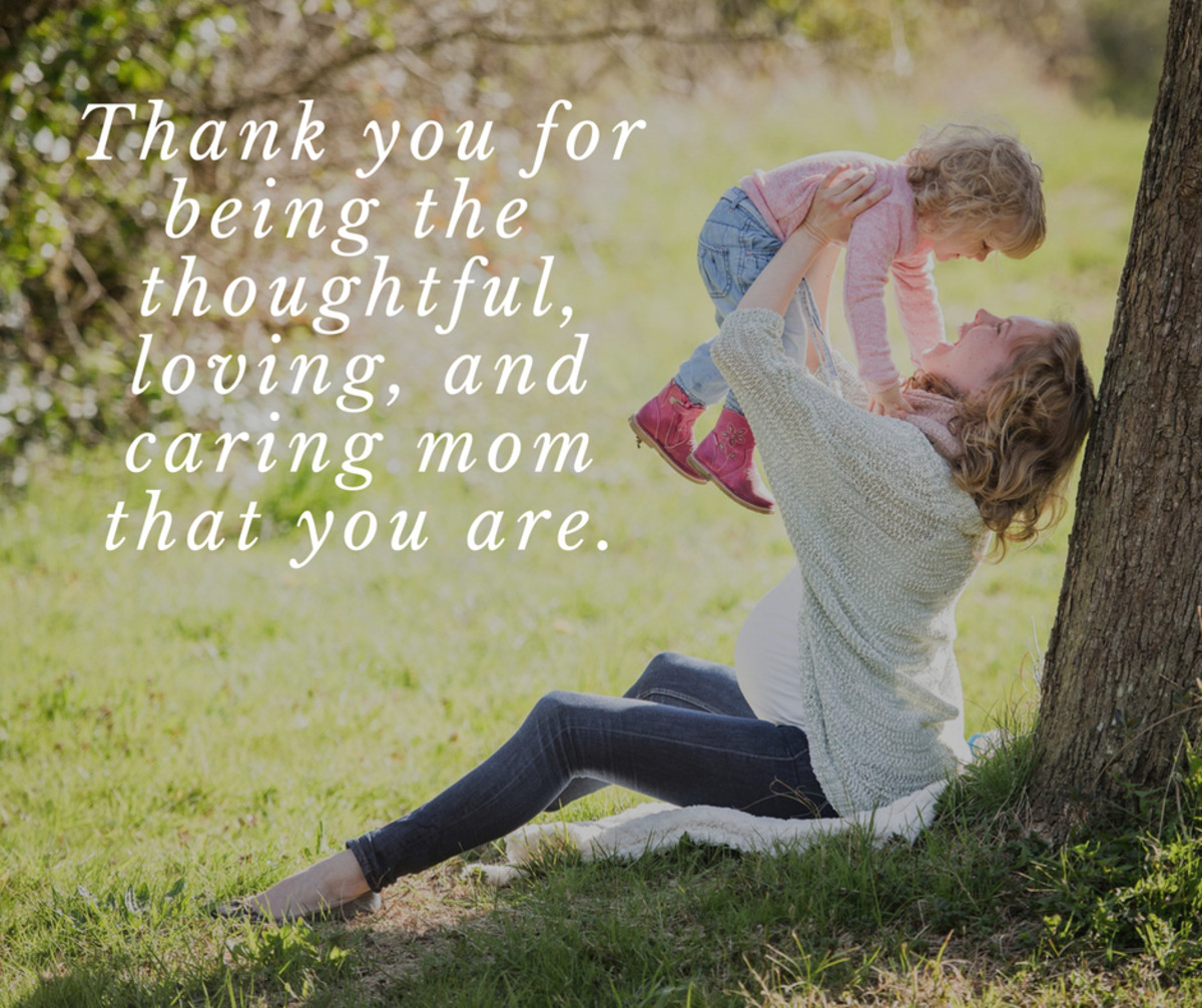 Thank You Messages for Mom on Mother's Day | Holidappy